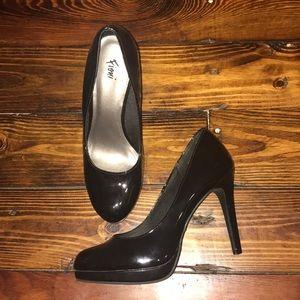 Fioni Women's Black Heels Size 7.5